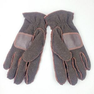 GAP Wool Blend Brown Thick Winter Gloves